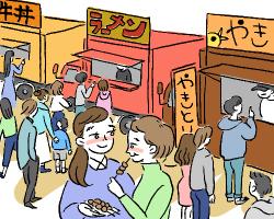 キッチンカーでイベント出店して儲けたい!