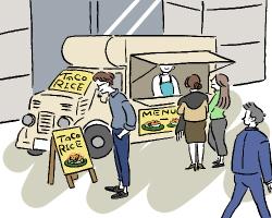 キッチンカーでランチ出店して安定収入を得たい!