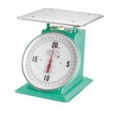 【重量計】 【業務用】 【計量器】 【測量器】 デカO型 30kg 上皿自動ハカリ フジ (平皿付)