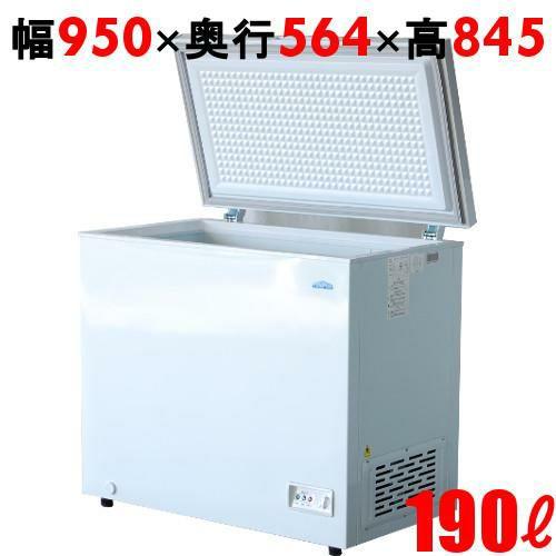冷凍ストッカー 190L チェストタイプ(上開きタイプ)TBCF-190-RH 幅950×奥行564×高さ845