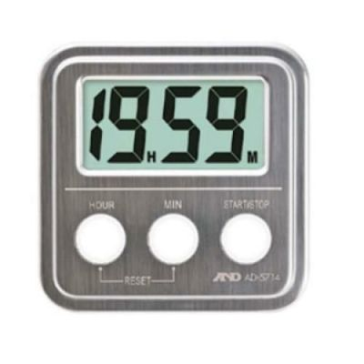 A&D 20時間タイマー (ステンレスストップ) AD5714