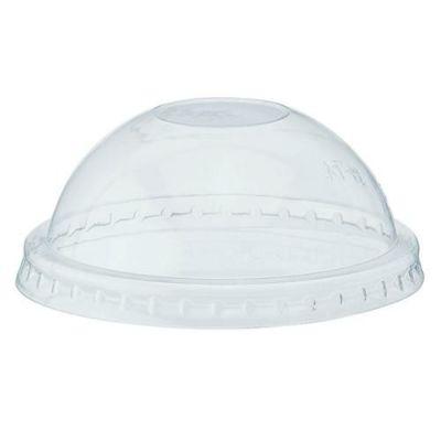 透明カップ ドーム蓋 74mm口径用 穴なし 50個×60ケース /業務用/新品