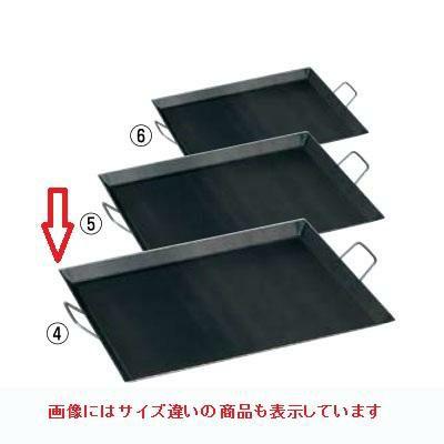 鉄板 バーベキュー鉄板 CP-68 寸法:580×440×H30(mm)