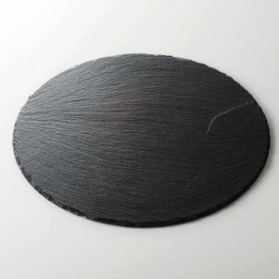 ライザースレート 35cm丸トレー トレー/業務用/新品