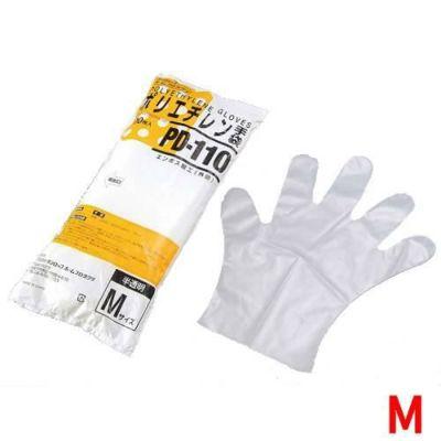 ダンロップ ポリエチレン手袋 M