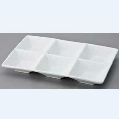 仕切皿 8cm6連/洋食器