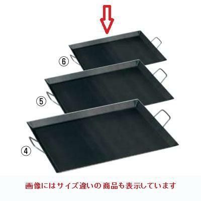 鉄板 バーベキュー鉄板 CP-44 寸法:440×440×H30(mm)