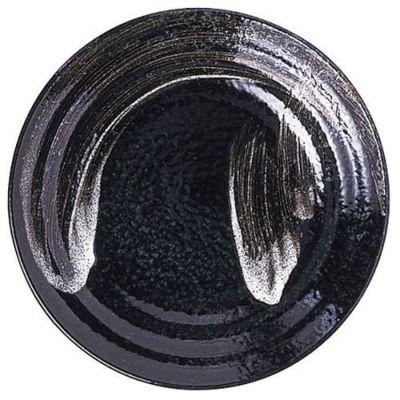 丸皿 【明世荒刷毛 ミツワ8.5皿】 高さ35mm×直径:258