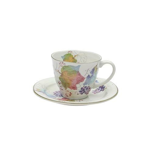 カラーカップ&ソーサーの画像