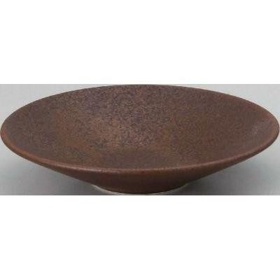 鍋 水明 赤茶備前 22cm深皿