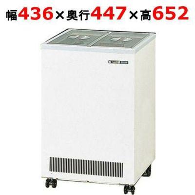 サンデン 冷水ショーケース 32L SB-18X 幅436×奥行447×高さ652mm キャスター付