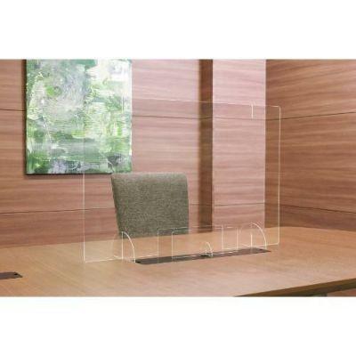 飛沫防止 窓付きパーティションボード2way (蓋付き) アクリル透明板 900×600mm