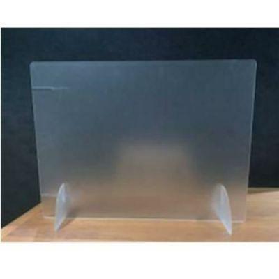 飛沫防止 パーティションボード2way (タテ・ヨコ兼用) アクリル両面マット板 600×450mm