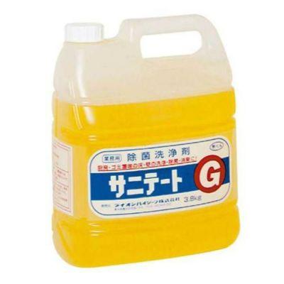 ライオン 床・壁等の除菌、消毒洗浄剤 サニテートG 3.8Kg