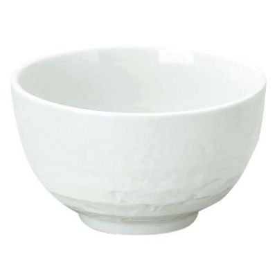 美濃焼 白 石目3.6丼 小丼 10個入