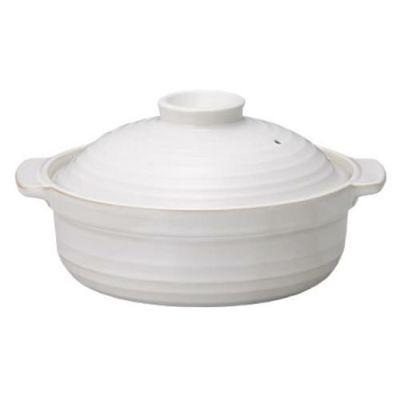 土鍋 和 白 7号鍋 IH対応